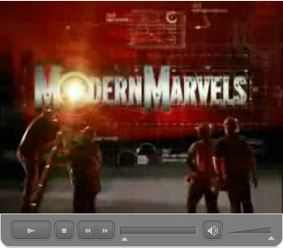 Click here to watch the The History Channel - Modern Marvels SPF Video (7:07) segment in Macromedia Flash Format.